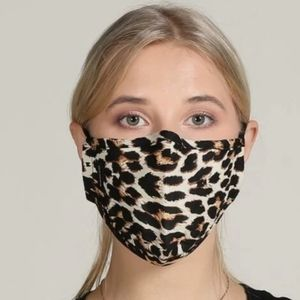 New Leopard Print Face Mask Reusable Protection